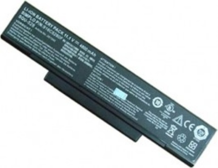 Batteri til MAXDATA Imperio 8100IS Pro 600IW 6100I 6100IW 8100IS 8100IW 8100IWS(kompatibelt)
