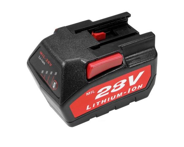 Batteri til AEG Milwaukee Wurth 48-11-1830 48-11-2850 48-11-2830 (kompatibelt)