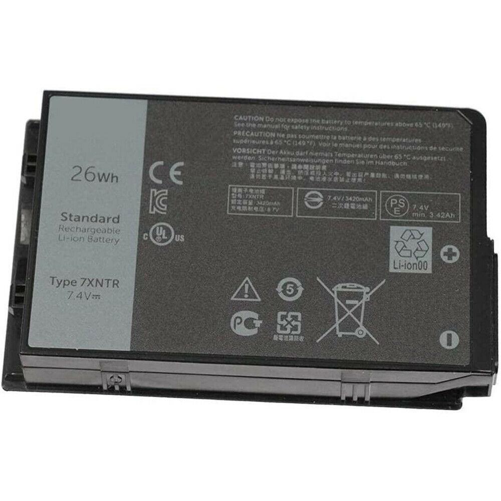 Batteri til 7XNTR FH8RW T03H DELL Latitude 12 7212 7202 RUGGED EXTREME (kompatibelt)