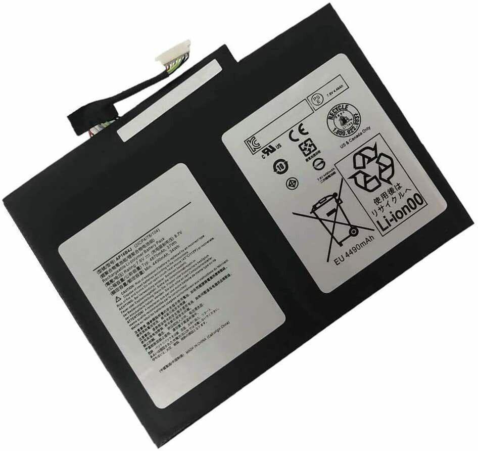 Batteri til AP16B4J KT.00204.00 ACER Switch 7 Black Edition SW713-51GNP (kompatibelt)