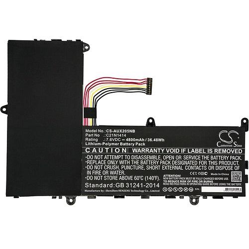Batteri til C21N1414 CKSE321D1 ASUS EeeBook X205TA X205 F205TA X205T (kompatibelt)