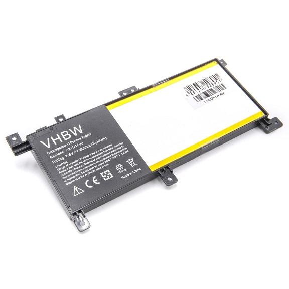Batteri til C21N1509 C21PQCH ASUS K556U F556U X556U X556UB K556UQ (kompatibelt)
