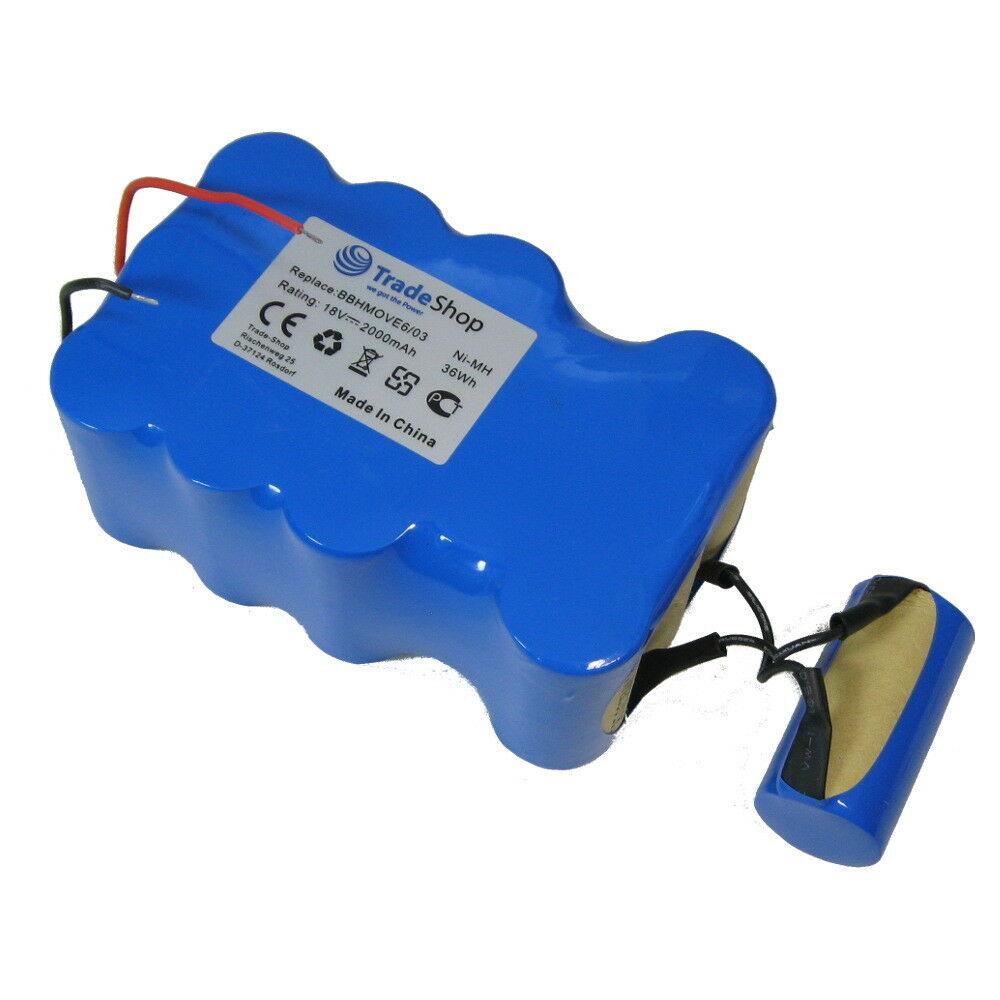 Batteri til 18V 2000mAh Ni-MH Bosch BBHMOVE4 BBHMOVE6 03 (kompatibelt)