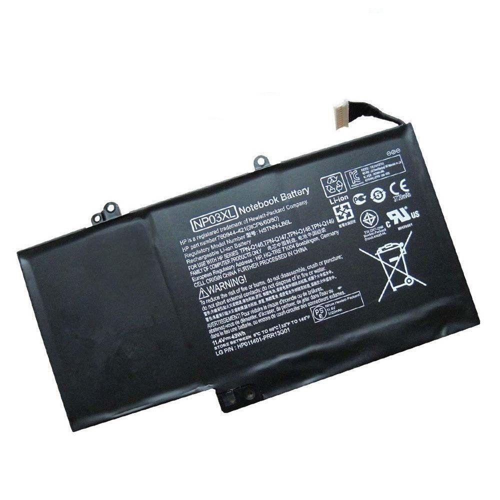 Batteri til HP Envy x360 15-U200NG 15-U200NQ 15-U200NS 15-U200NU(kompatibelt)