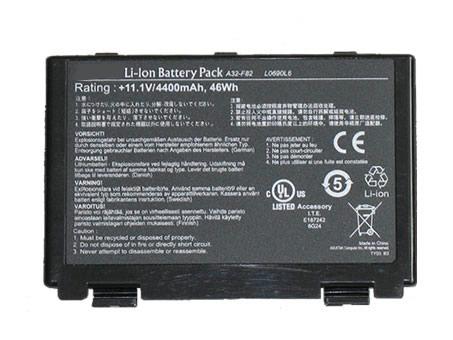 Batteri til Asus P50ij P50in K50AB-X2A K50ij K40A K40S X8B X8D A32-F82 (kompatibelt)